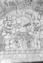 Five Nights at Freddy's (2019) afişi