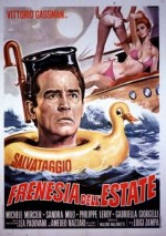 Frenesia dell'estate (1964) afişi