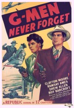 G-men Never Forget (1948) afişi