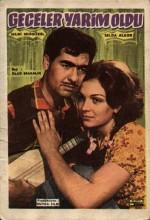 Geceler Yarim Oldu (1966) afişi