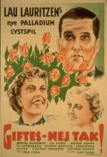 Giftes - Nej Tak! (1936) afişi