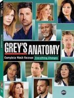 Grey's Anatomy Season 9 (2012) afişi