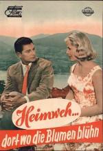 Heimweh... Dort Wo Die Blumen Blüh'n (1957) afişi