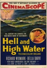 Hell And High Water (1954) afişi