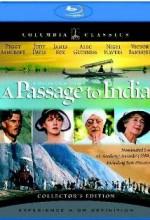 Hindistana Bir Geçit (1984) afişi