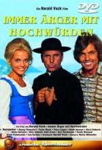 Immer Ärger Mit Hochwürden (1972) afişi