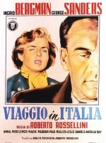 İtalya'da Yolculuk (1953) afişi