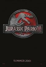 Jurassic Park III (2001) afişi