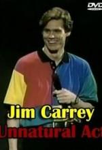 Jim Carrey: Unnatural Act (1991) afişi