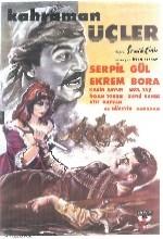 Kahraman Üçler (1961) afişi