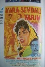 Kara Sevdalı Yarim (1959) afişi