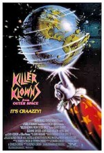 Killer Klowns (1988) afişi