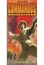 Komandoların şafak Akını (1942) afişi
