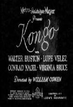 Kongo (ı) (1932) afişi