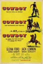 Kovboy (1958) afişi