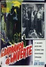La Barranca De La Muerte (1955) afişi