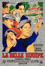 La Belle équipe (1936) afişi