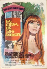 La Chica De Los Anuncios (1968) afişi