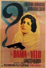 La Dama Del Velo (1949) afişi