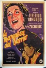La Marquesa Del Barrio (1951) afişi