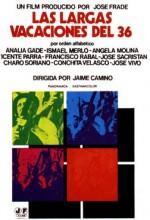 Las Largas Vacaciones Del 36 (1976) afişi