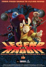 Legend Of A Rabbit (2011) afişi