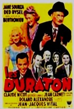 Les Duraton (1956) afişi