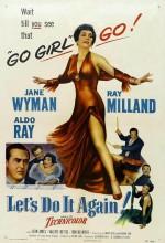 Let's Do ıt Again (ı) (1953) afişi