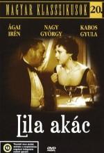 Lila Akác (1934) afişi