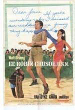 Lt. Robin Crusoe, U.s.n. (1966) afişi