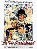 La vie parisienne (1936) afişi