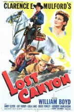 Lost Canyon (1942) afişi