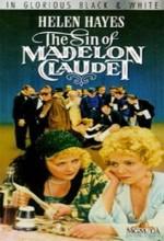 Madelo'nun Günahı Claudet (1931) afişi