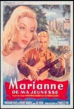 Marianne De Ma Jeunesse (1955) afişi