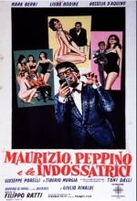 Maurizio, Peppino E Le Indossatrici (1961) afişi