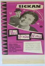 Med Glorian På Sned (1957) afişi