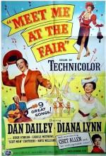 Meet Me At The Fair (1953) afişi