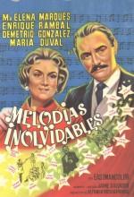 Melodías Inolvidables (1959) afişi