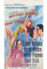 Million Dollar Mermaid (1952) afişi