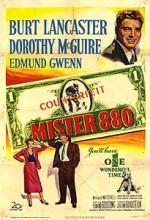 Mister 880 (1950) afişi