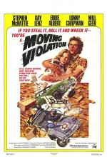 Moving Violation (1976) afişi