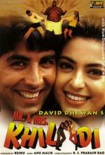 Mr. & Mrs. Khiladi (1997) afişi
