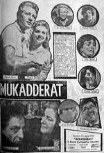 Mukadderat (1963) afişi