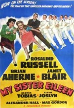 My Sister Eileen (1955) afişi