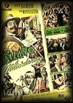 Milano miliardaria (1951) afişi