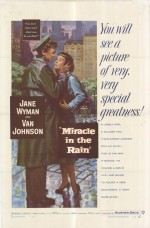Miracle In The Rain (1956) afişi