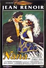 Nana (ııı) (1926) afişi