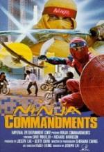 Ninja Commandments (1987) afişi