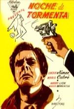 Noche De Tormenta (1955) afişi