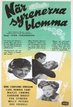 När Syrenerna Blomma (1952) afişi